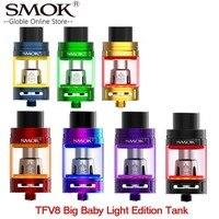 SMOK TFV8 Big Baby Light Edition Atomizer 5ml V8 Big Baby Tank with Baby Q2 Coil Elektronik Sigara Atomizer For Vape SMOK Alien