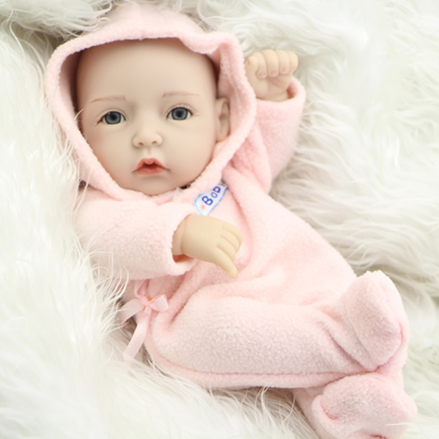 e7d288c6ef5 NPK Collection 11 Inch Princess Girl Doll Mini Reborn Babies Full ...