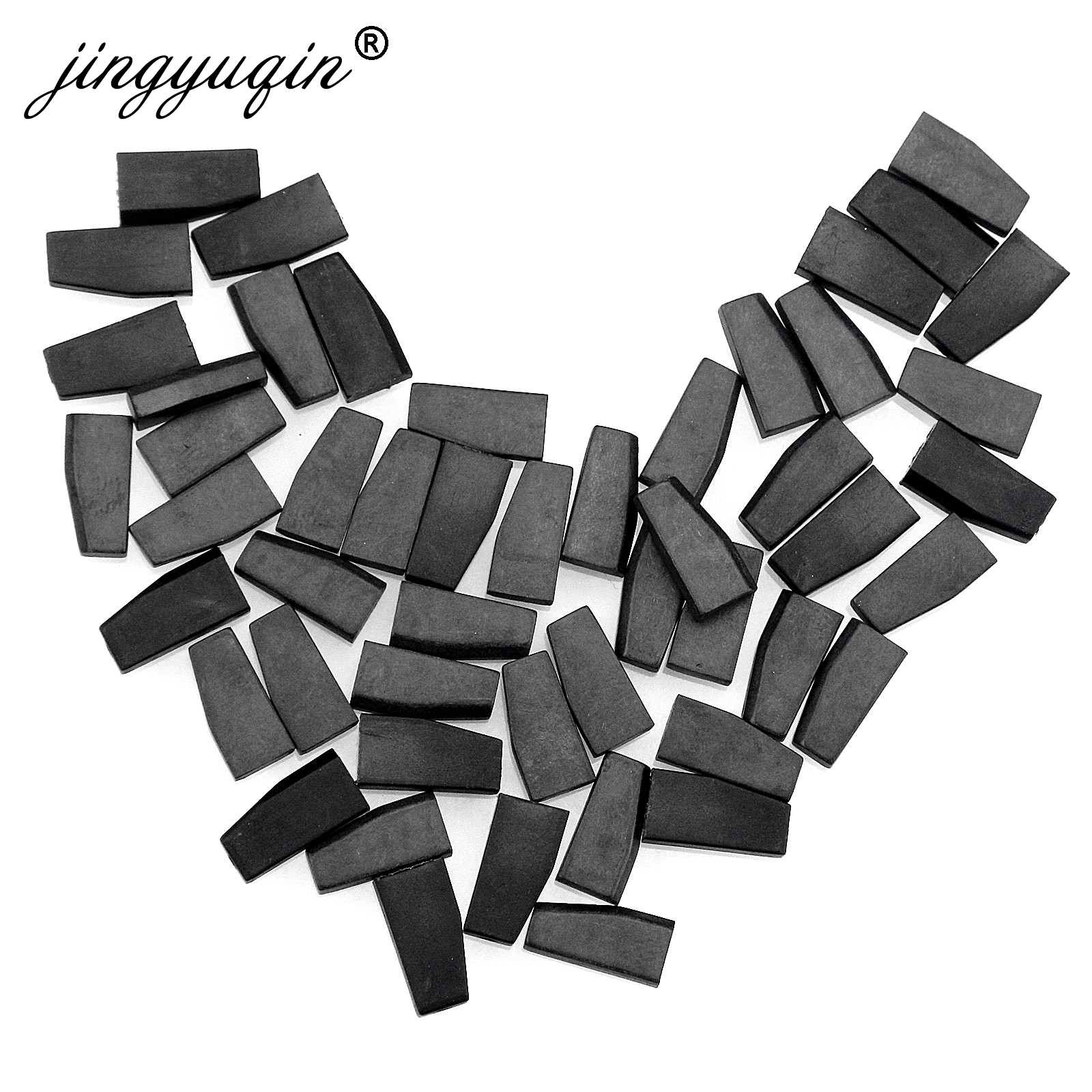 jingyuqin 15pcs lot Auto Carbon Transponder Chip For Ford Mazda Lincoln 4D63 40Bit 80Bit 4D ID63