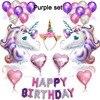 purple unicorn set