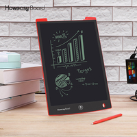Howeasy 12 inch LCD Kids Writing Drawing Electronic Erasable Memo Message Ewriter Pad Board Tablet