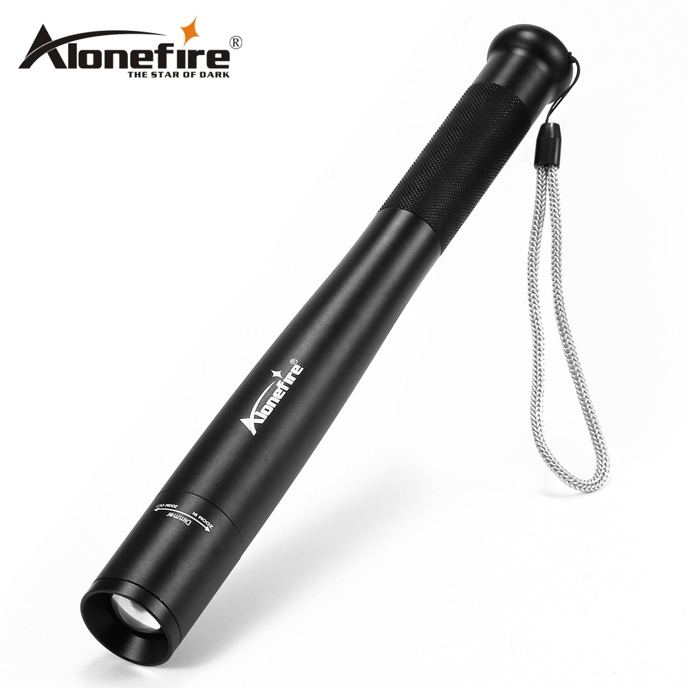 AloneFire X970 CREE T6 LED flashlight tactical flashlight by 18650 Torch Long Light Baseball Bat Shape self defense 5 Mode лак для ногтей mavala pearl mini color s 006 цвет 006 osaka variant hex name f4c7d2