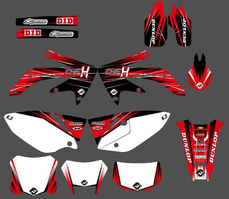 GRAPHICS & BACKGROUNDS DECAL STICKER Kit for Honda CRF450X 4 STROKES 2004 2005 2006 2007 08 09 10 11 2012 CRF 450 X CRF450GRAPHICS & BACKGROUNDS DECAL STICKER Kit for Honda CRF450X 4 STROKES 2004 2005 2006 2007 08 09 10 11 2012 CRF 450 X CRF450
