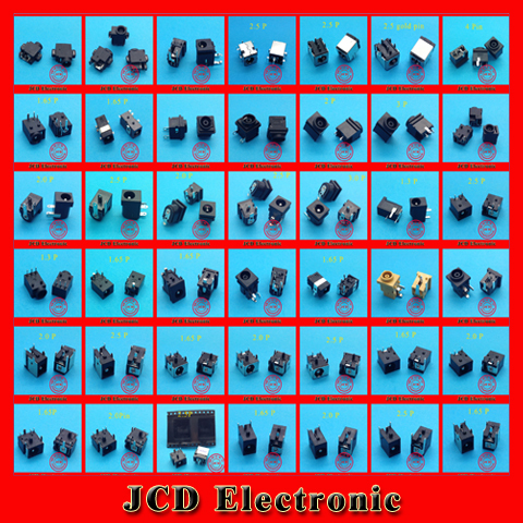 1 lot /43 Model /86pcs Widely Using Laptop Power DC Jack Connector, Socket