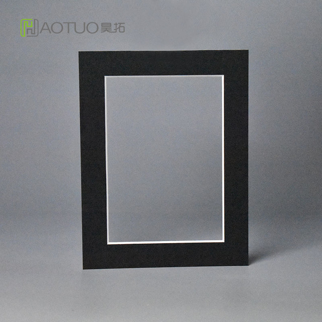 15mm Thick Black Cardboard Photo Frame Fit 4x6 Pictures Wedding