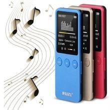 Ultrathin RUIZU X08 Speaker 1.8″ 8GB MP3 Player Slim Video Radio FM Player for 64GB Micro SD TF Card Music Play Times 200 Hours