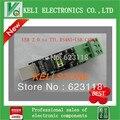 O Envio gratuito de 1 PÇS/LOTE USB 2.0 para RS485 Conversor Adaptador Serial FTDI FT232RL TTL + cabo USB 100% Original Novo