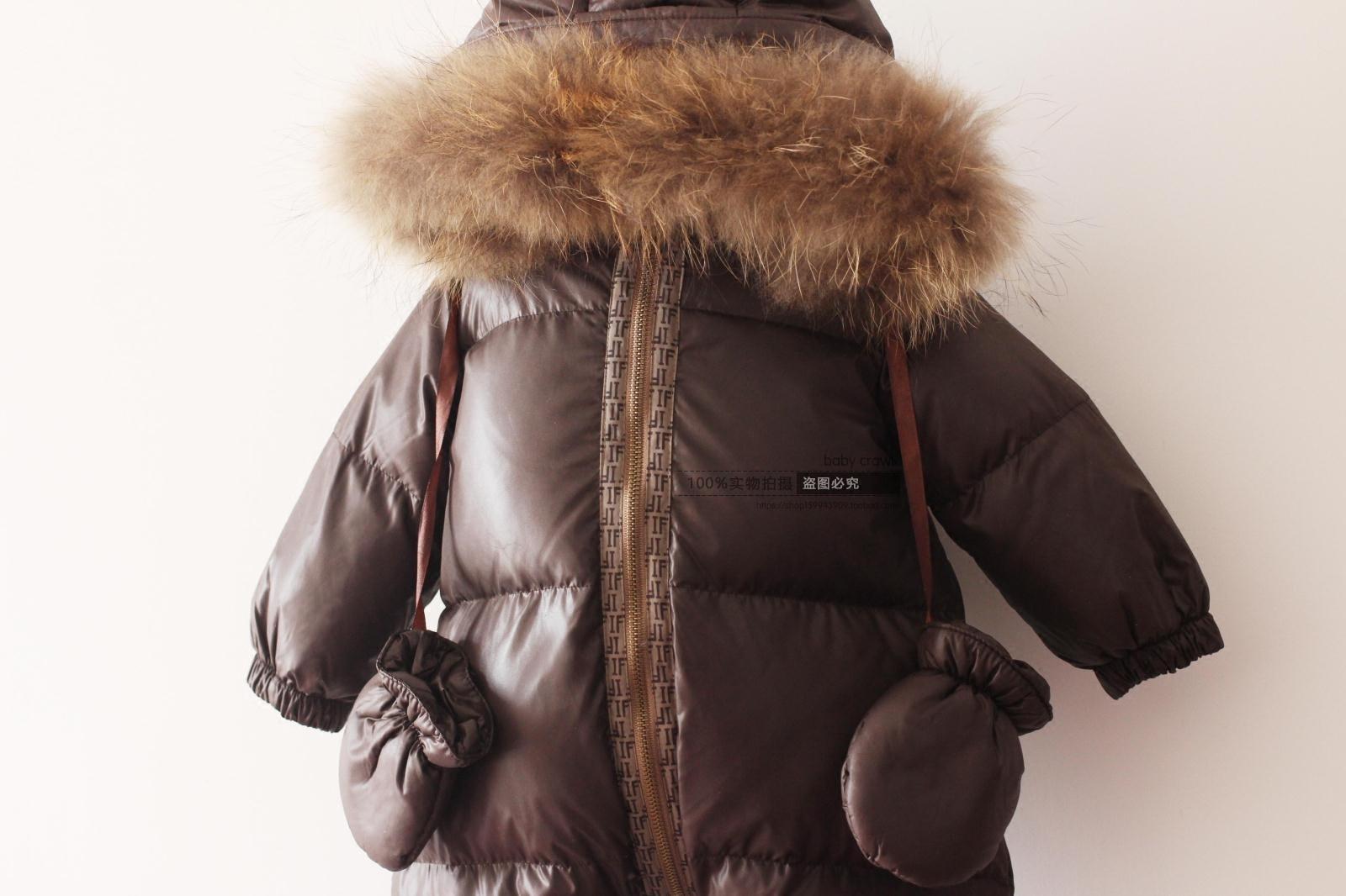 2017 Mode Winter Pasgeboren Winter Jassen voor Baby Meisjes Beneden Jassen Jongens Onesie Down Jas Eendendons 3 6 12 Maanden 2 Jaar 3