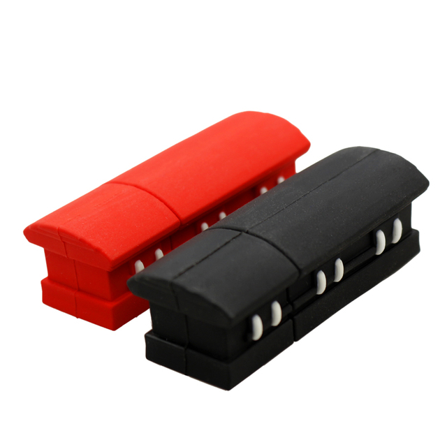 Usb flash drive Full Capacity 4GB coffin 8GB U disk 16GB Pendrive 32GB 64GB Cartoon Pen Drive Memory Stick U Disk Free shipping