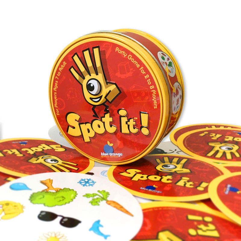 Cards Spot It Dubble Game Entertainment Spot Board Game family Funny Collection Cards Toys For children