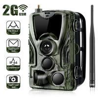 Suntekcam HC 801M 2G Hunting Camera 16MP Trail Camera SMS/MMS/SMTP IP65 Photo Traps 0.3s Trigger Time Camera Trap Wild Cameras