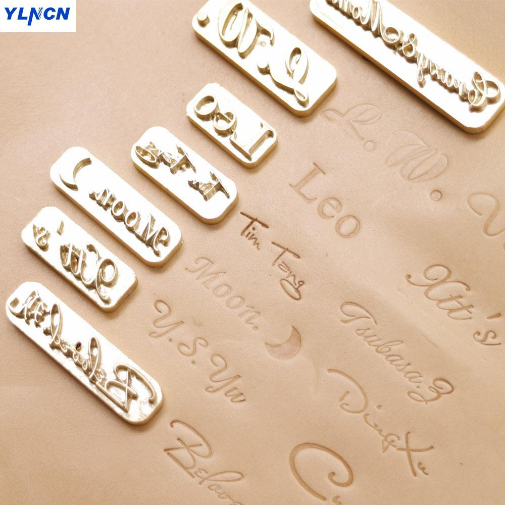 Diy Leather Embossing Stamp: Custom Design Leather Hot Foil Embossing Stamping Leather