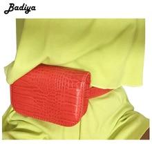 Элитный бренд сумки на пояс для женщин крокодил узор из искусственной кожи fit 5,5 дюйм(ов) ов) телефон забавные дамы путешествия деньги кошелек
