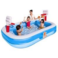 254*168*102 см высококачественный цветной детский бассейн детский водный бассейн для отдыха бассейн садовые игрушки
