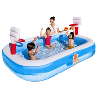254*168*102CM High quality color baby swimming pool children water recreation pool garden toys
