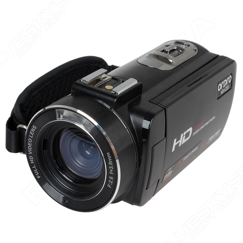 "ORDRO HDV-Z Digital Video Camera Camcorder 3.0"" Touch Screen 1080P Full HD 16X Zoom 24MP Face Detection LED Fill-in Light DV 24"