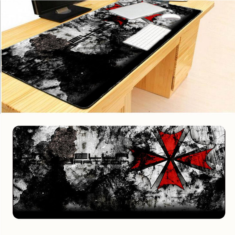 Mairuige Umbrella Corporation Logo 900x400x4mm Pad To Mouse Notbook Computer Mousepad Cheapest Gaming Pad For CSGO LOL Gamer цена и фото