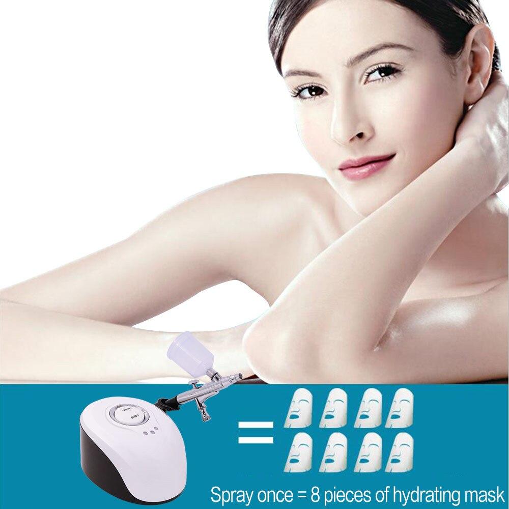 Facial SPA Sprayer Machine Nano Mister Face Steamer Water Spray Facial Skin Rejuvenation Oxygen Injection Nebulizer