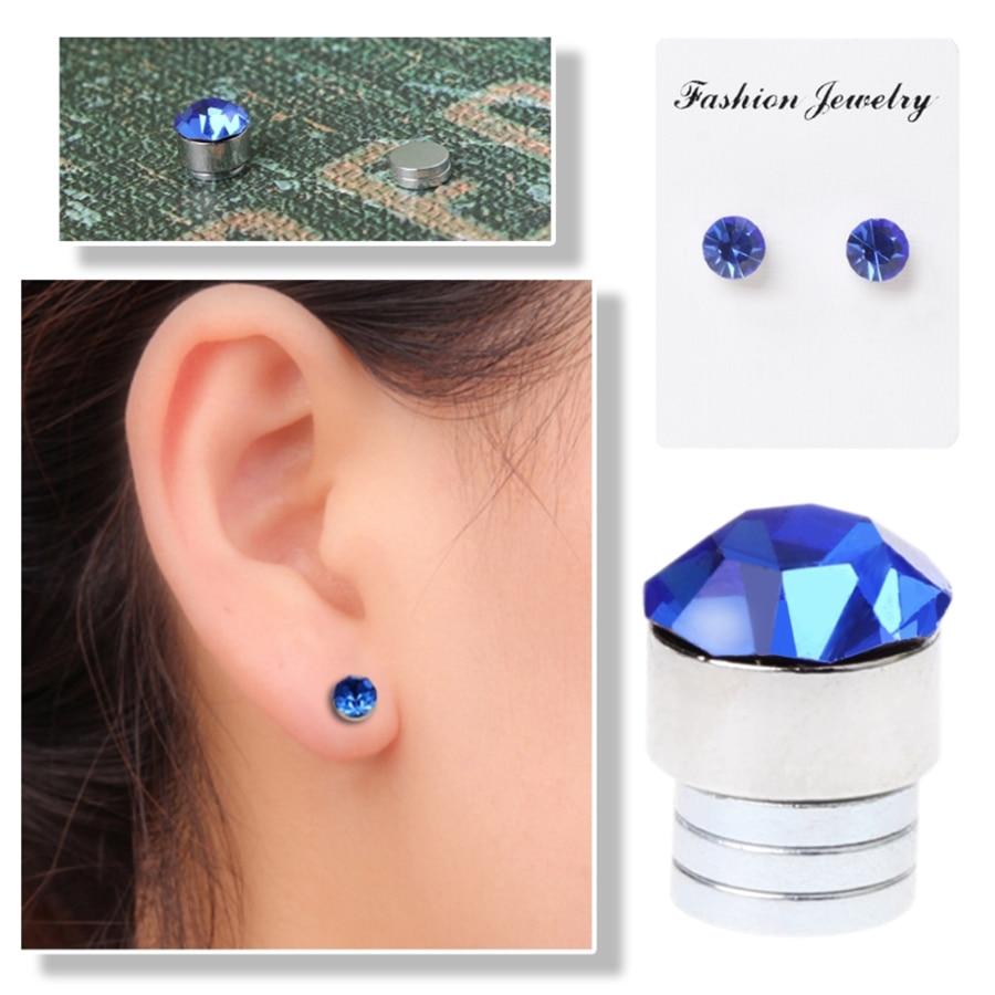 1 paar Magnetic Therapie Ohrringe Ohrringe Für Gewicht Verlust Ring Abnehmen Ring Stimulierung Acupointsfat Brenner Verlieren Gewicht Frau