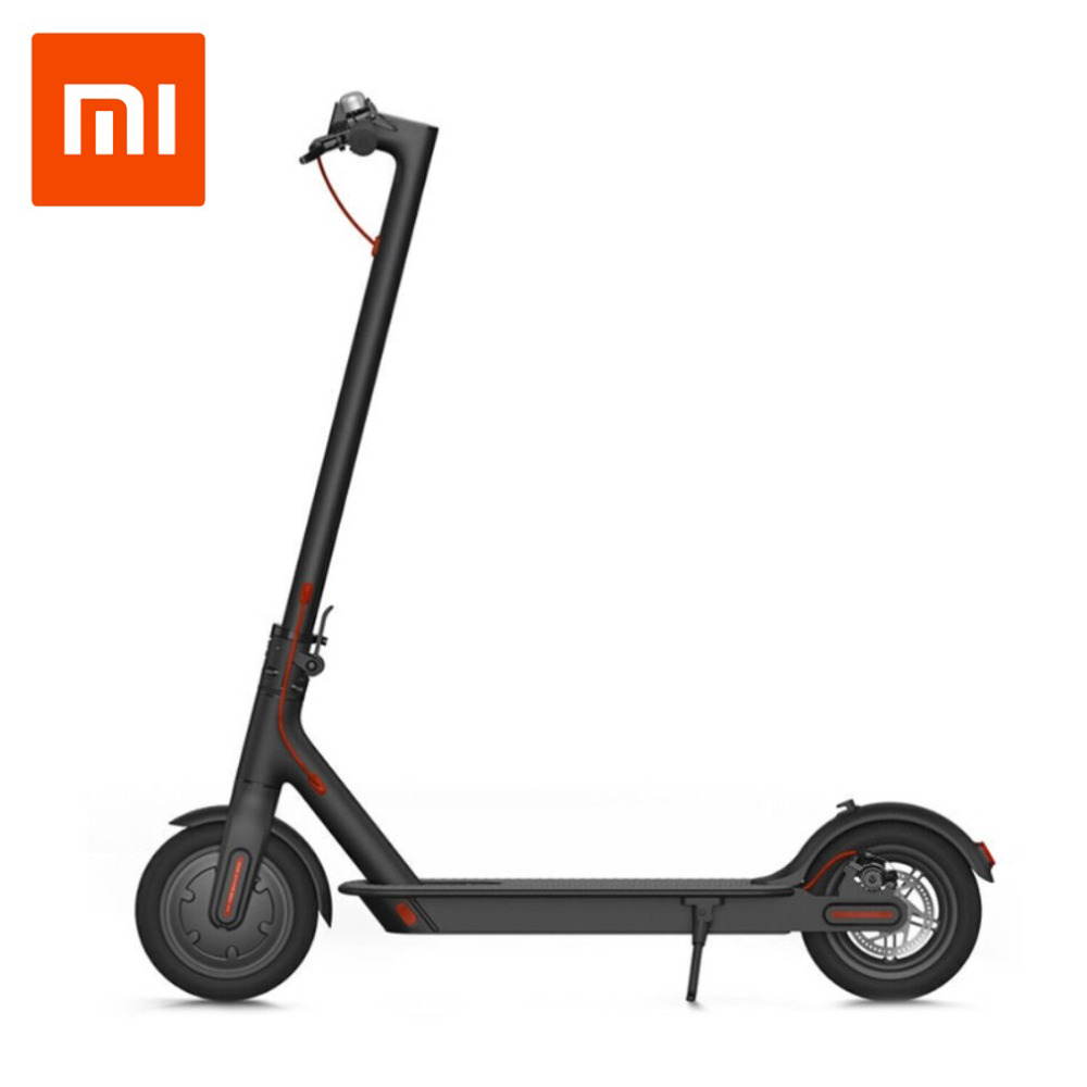 цена на Xiaomi Mi Electronic Scooter 2 Wheels Foldable Smart Scooter Skate Board Hoverboard Adult 30km Battery Bike Kick Scooters Top