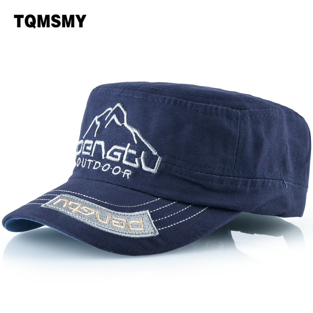 TQMSMY 100% cotton Embroidery mountain Baseball Cap Men Women Caps Hats Snapback Caps Bone Flat Gorras Plain Caps Hat TMBS45 warm winter caps spring thickened baseball cap with ears men s cotton hat snapback curved hats ear flaps men leisure hats bone