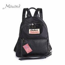 Высокое качество водонепроницаемый оксфорд с черный рюкзак женщины мужчины кисточкой вышивка рюкзаки мешок школы mochila девушка письмо ноутбук