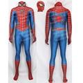 Good Quality Custom Made Raimi Spider-Man Cosplay Costume Raimi Spiderman Costume Spandex Spiderman Suit With Lenses #4