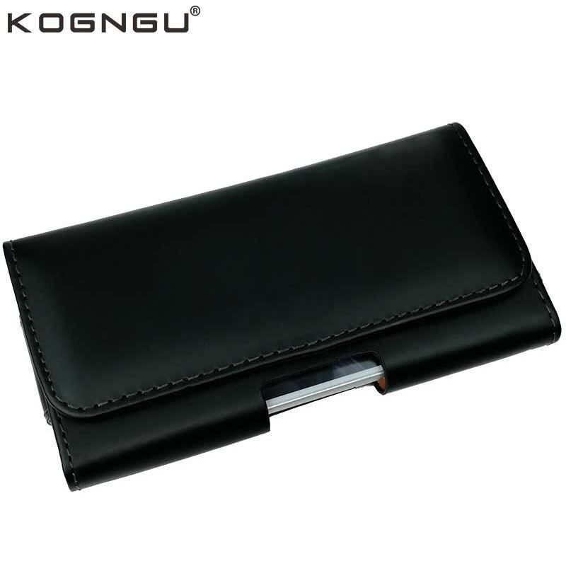 Kogngu Haute Qualité En Cuir PU Téléphone Clip Ceinture Support Mobile Cas pour Blackview BV5800/BV5800 Pro Téléphone Cas