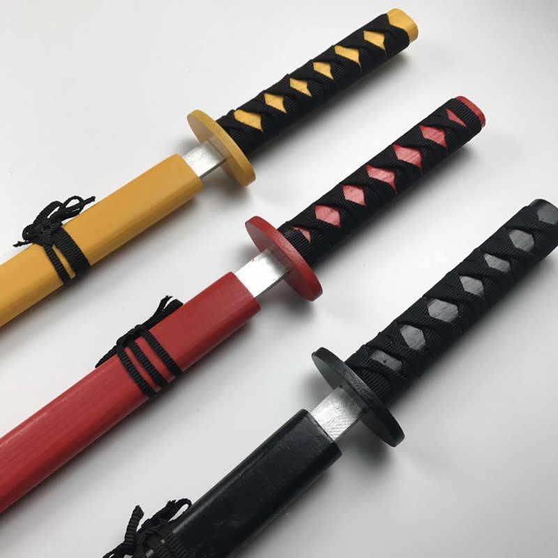1 Máy tính 73 CM Trẻ Em Nhật Bản của Thanh Kiếm Gỗ Đồ Chơi kiếm Katana Đồ chơi gỗ Nhật Bản dao Kiếm đồ chơi cho trẻ em màu sắc ngẫu nhiên