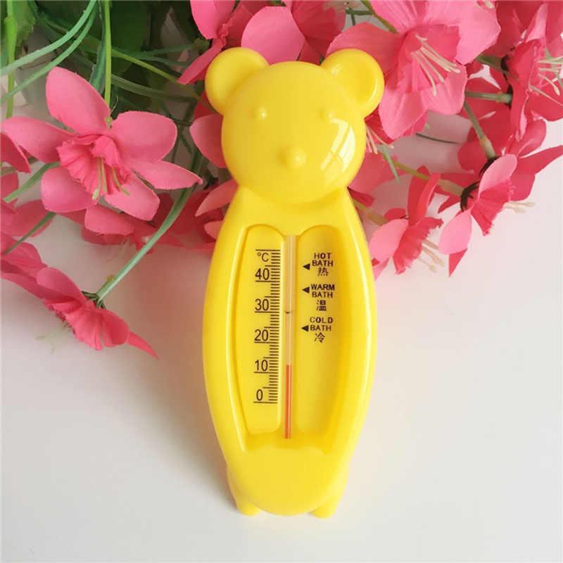 ילדים חדשים Cartoon מקורה אמבטיה מדחום תינוק דוב מים מדחום חמוד דוב צורת ילדים תינוקות מקלחת מוצרים