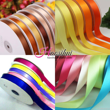 6mm-51mm Width 100yards Satin Ribbon Wedding Party Festive Event Decoration Crafts Gifts Wrapping Apparel Sewing Fabric Supplies