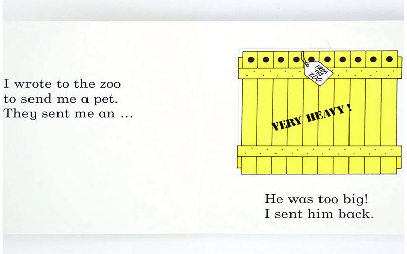 Estimado Zoo: un ascensor de la aleta libro varilla Campbell ...