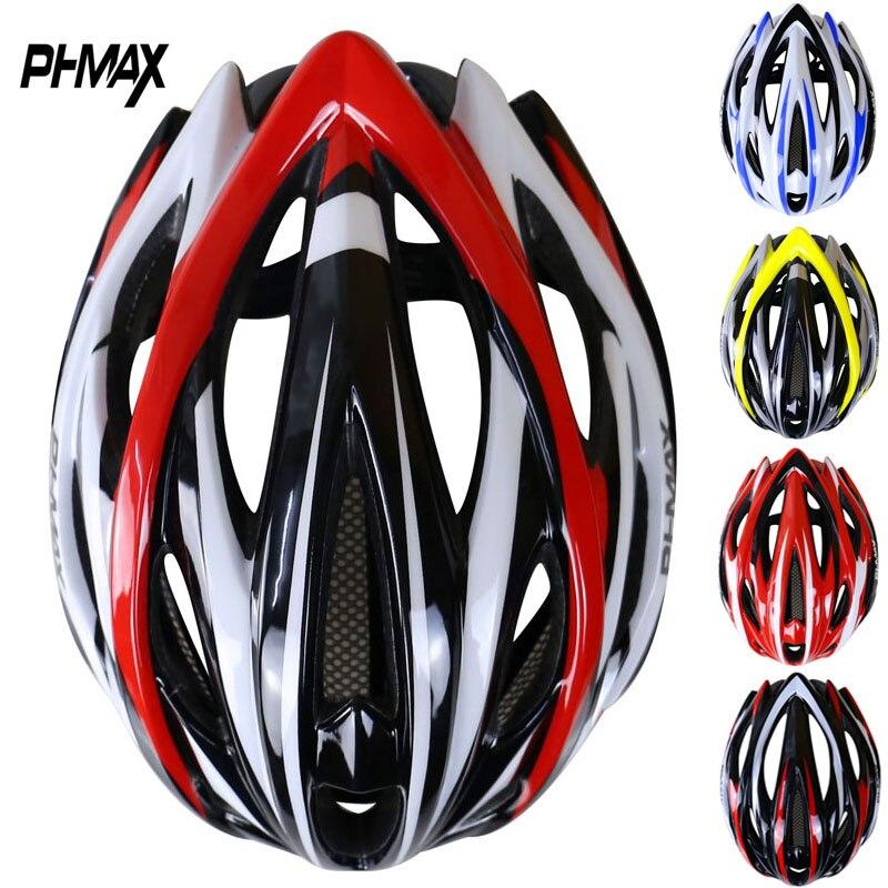 Цена за PHMAX Марка Велоспорт Шлем С Насекомых Сети В процессе формования 25 Отверстия MTB Велосипедный Шлем Сверхлегкий Велосипед Шлем Каско Ciclismo