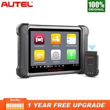 Autel escáner MaxiSys MS906BT OBD2, herramienta de diagnóstico de coche, programador de llave, herramienta automática, sistema completo, codificación ECU, mejor que Launch X431