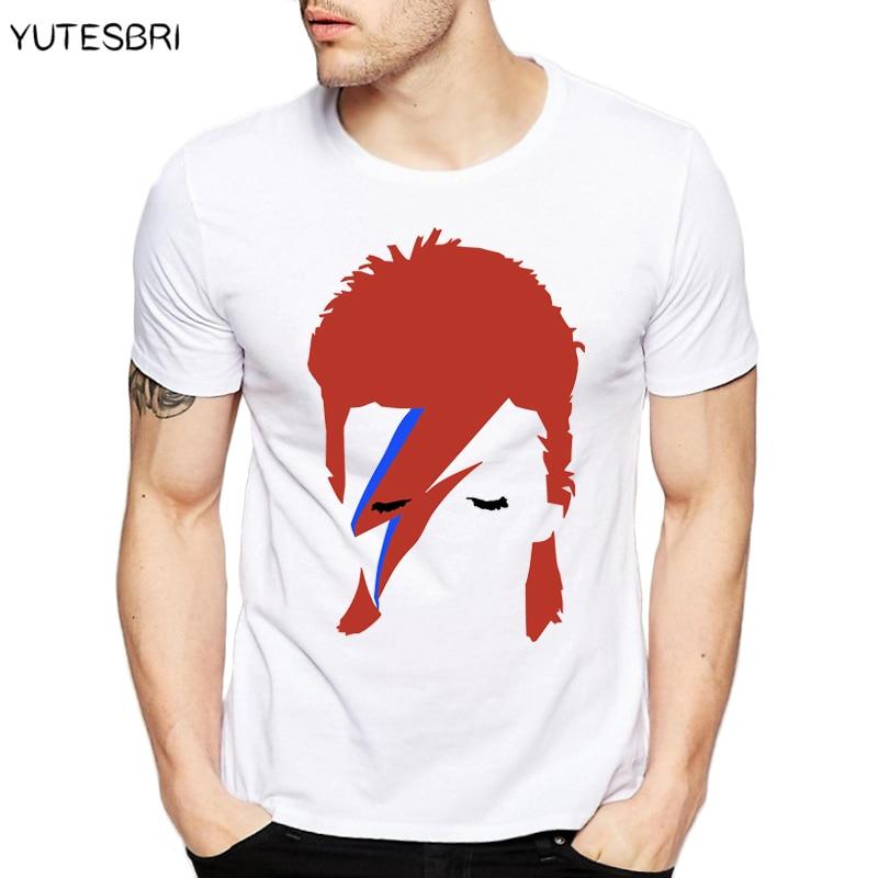 Men Women trendy T Shirt david bowie image Design T shirt ...