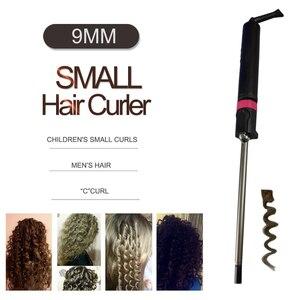 Image 5 - 2020 חדש מקצועי קרלינג ברזל יוניסקס מתולתל שיער קרלינג שרביט עמוק כל תלתל גל מכונת בורג תוף של שיער curler