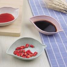 Товары для дома, креативные тарелки из пшеничной соломы, тарелка в форме листьев, тарелка, закуски, уксус, блюдо, аксессуары