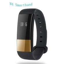 M4 Banda Inteligente de Pressão Arterial do Bluetooth/oxygen Monitor de Freqüência Cardíaca relógio de Pulso Pulseira de Fitness Rastreador Inteligente para Andriod iOS