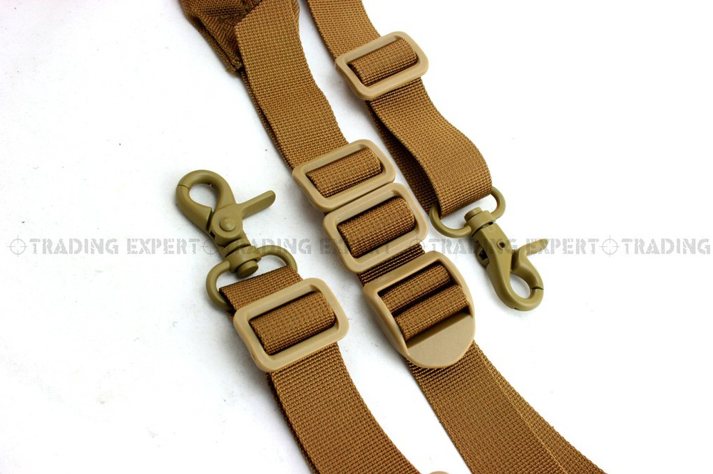 Emerson tactical gun sling quick speed and pad two point sling (Coyote Brown) bd8484a