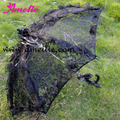 Frete Grátis Gótico Partido Chuveiro Guarda-chuva das Mulheres Guarda-chuva Do Laço Do Casamento Do Noivo para Adereços de Fotografias