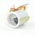2 polegada da Liberdade de escolha 7 Cores blacklight Auto Motor Do Carro Medidor de Tensão Bitola Métrica Auto VOLT GAUE Frete grátis