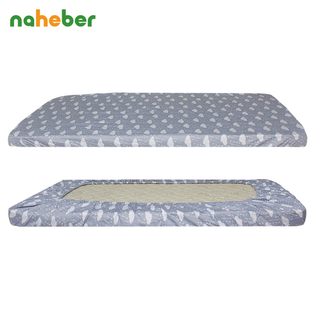 Baby Pure Cotton Crib Ed Sheet For Newborn Cot Sheets Bed Mattress Cover Cloud Elephant