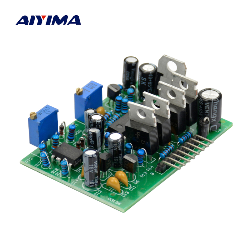 цена Aiyima Full protection 12-24V SG3525 LM358 Inverter Driver Board Pre/ post Circuit Protection Board