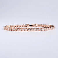 Women Chain Link Bracelets Free Occasion Gold Plated Temperament Elegant Bracelets Female Fashion 2017 New Style