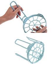 Wonderful Storage rack Bowls Organizer Drain Water  Holder Plastic Grids Kitchen