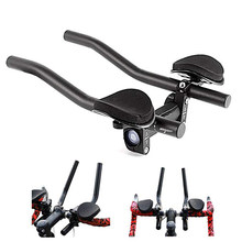 Rest TT Handlebar Aero Bars for Triathlon Time Trial Tri Cycling Bike Rest Handlebar for Bicycle Bike Long Distance Riding(China)