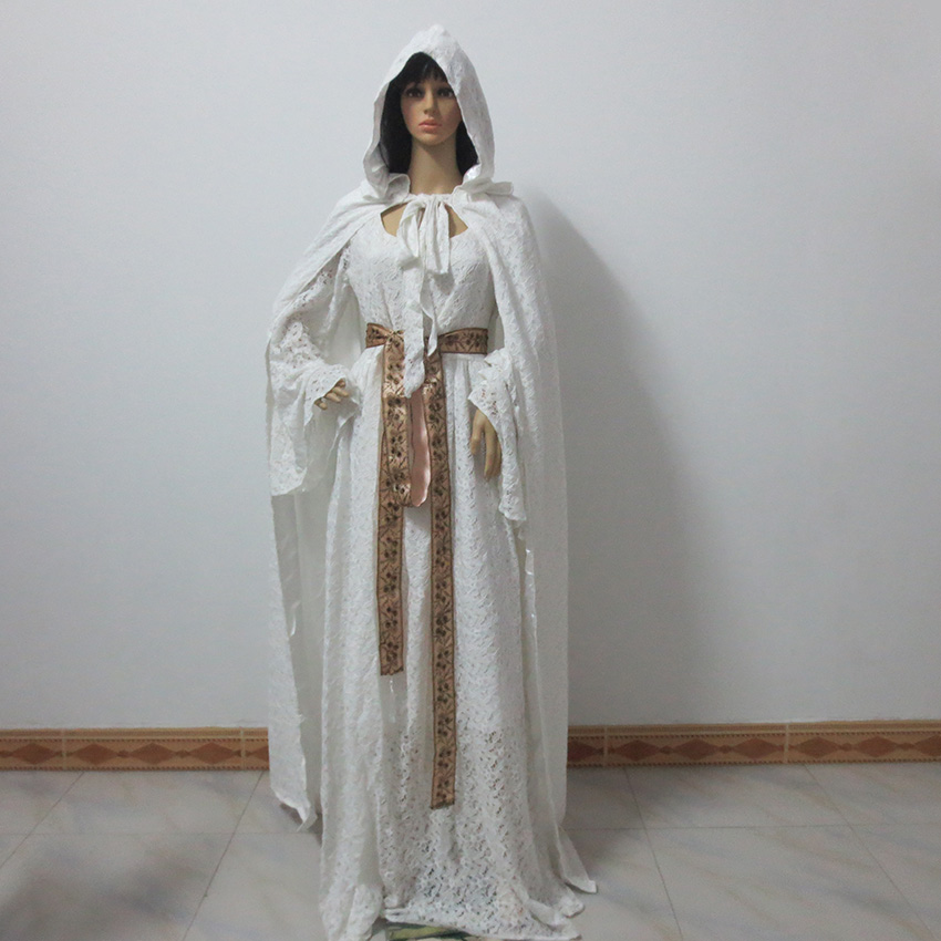 The Hobbit The Lord Of The Rings Galadriel Christmas Party Halloween Uniform Outfit Cosplay Costume Customize Any Size