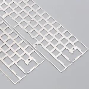 Image 3 - Алюминиевая пластина dz60 для DIY, механическая клавиатура из нержавеющей стали gh60