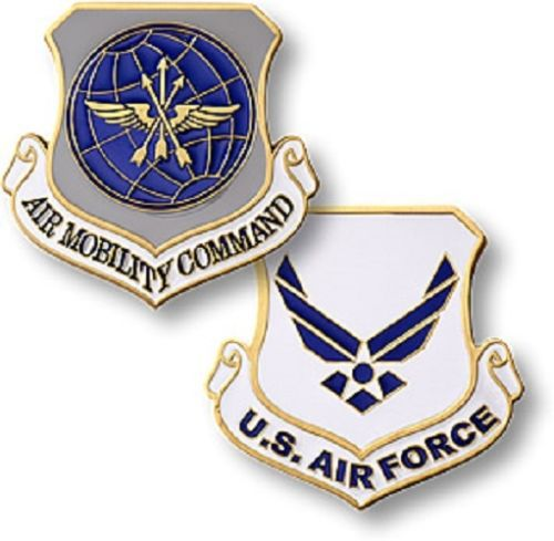 low price Custom coin hot sales U.S. Air Force / Air Mobility Command Challenge Coin High quality metal coins FH810188