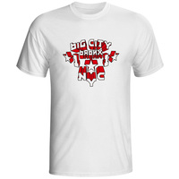 Big City Bronx NYC 3D Print T-shirt Punk Designed Rock T Shirt Fashion Pop Creative Boys Men Top Dropship Cool Tee